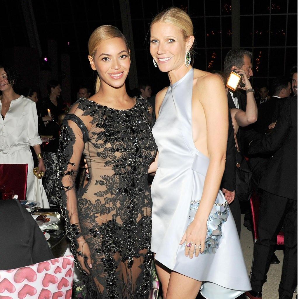 Beyoncé Knowles + Gwyneth Paltrow