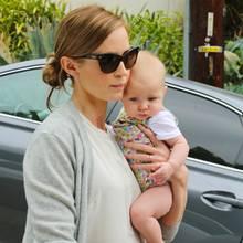 Emily Blunt mit ihrer Tochter Hazel