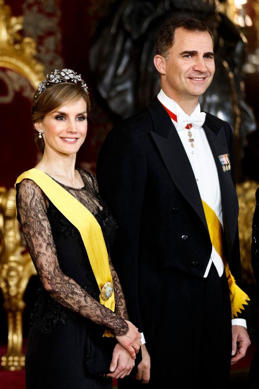 Prinzessin Letizia, Prinz Felipe von Spanien