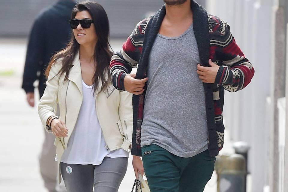 Kourtney Kardashian + Scott Disick