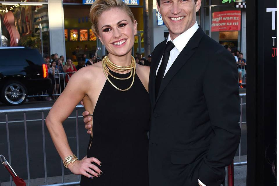 Anna Paquin + Stephen Moyer