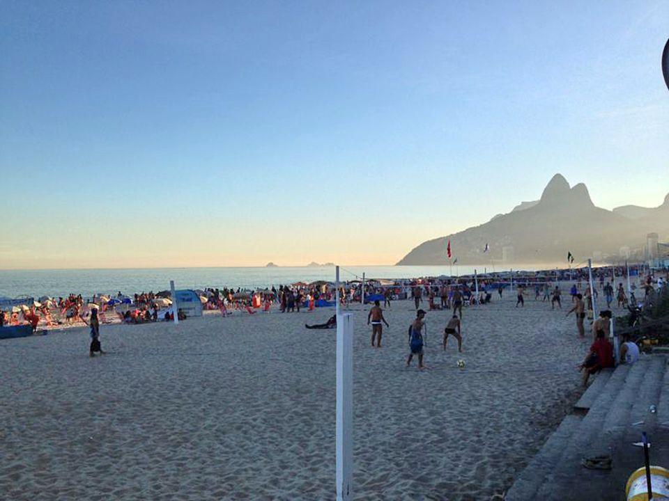 WM-Kolumne: An den wunderschönen brasilianischen Stränden geht nicht nur Bundestrainer Joachim Löw gerne joggen. In Fortaleza misst die Küste sogar stolze 573 Kilometer.