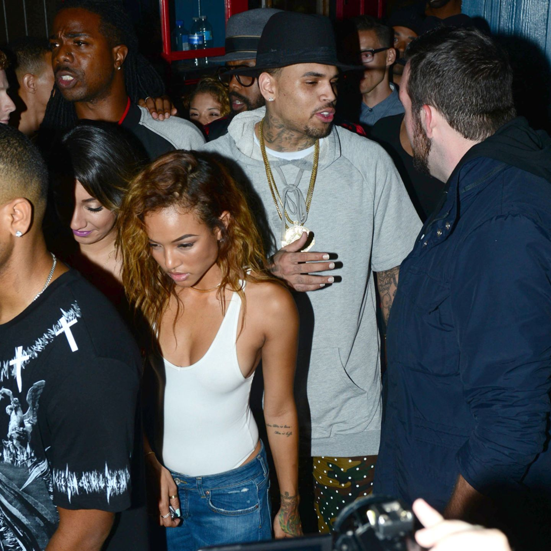 Karrueche + Chris Brown