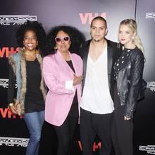 Rhonda Ross Kendrick, Diana Ross, Evan Ross + Ashlee Simpson