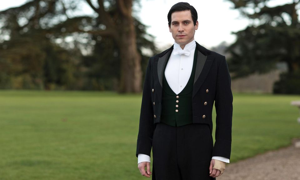 "Rob James-Collier in ""Downton Abbey"""