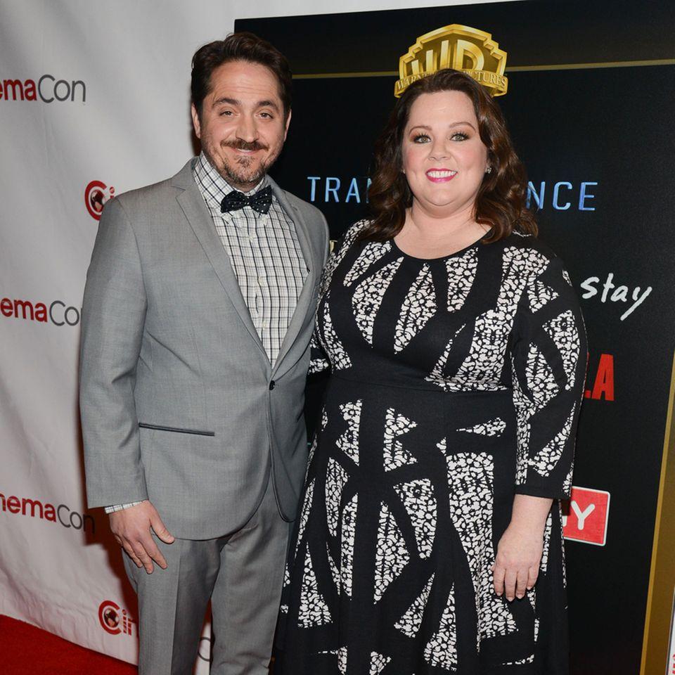 Ben Falcone + Melissa McCarthy