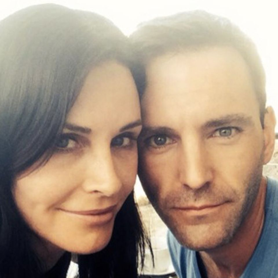 Courteney Cox + Johnny McDaid