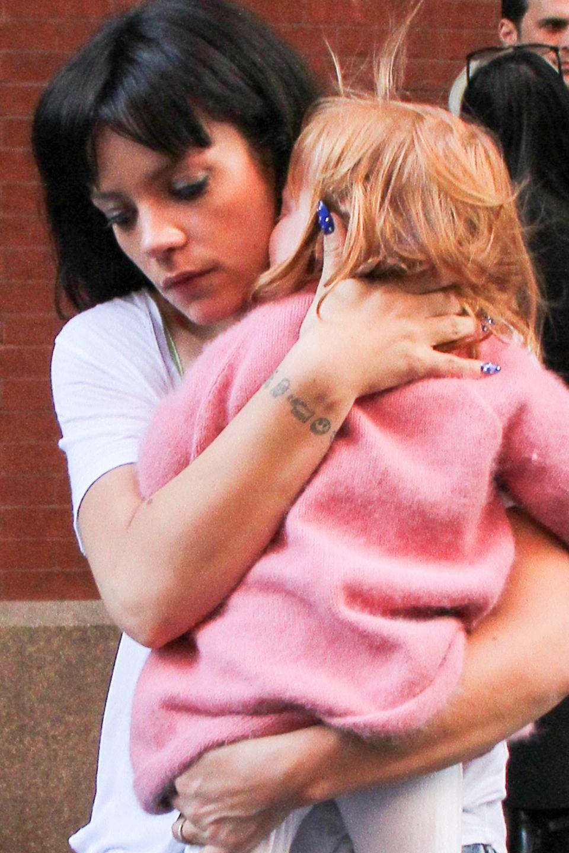 Lily Allen und ihre Tochter Ethel