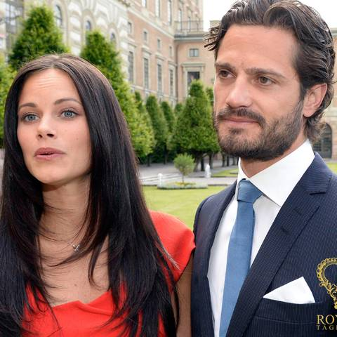 Sofia Hellgvist und Prinz Carl Philip