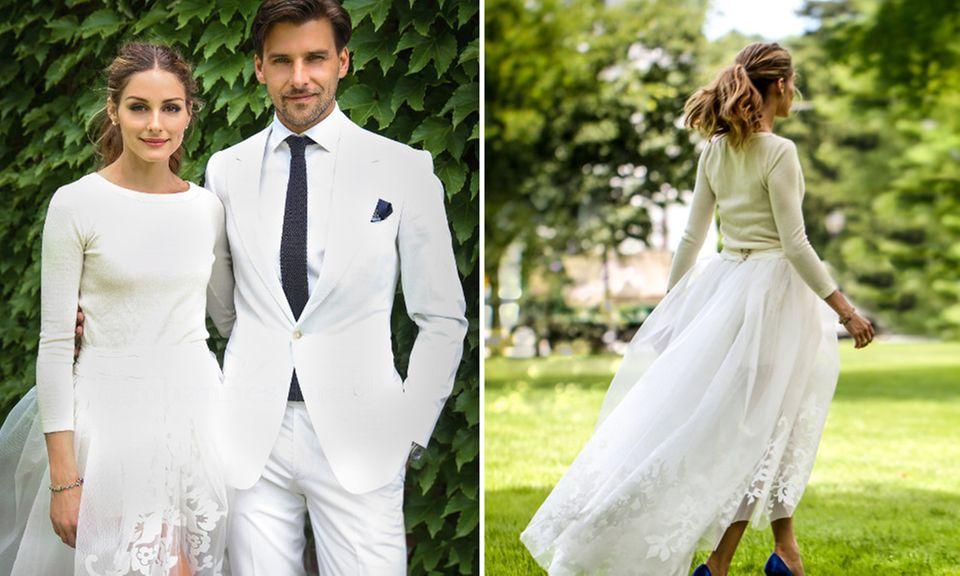Olivia Palermo und Johannes Huebl heiraten ganz idyllisch in ländlicher Umgebung.