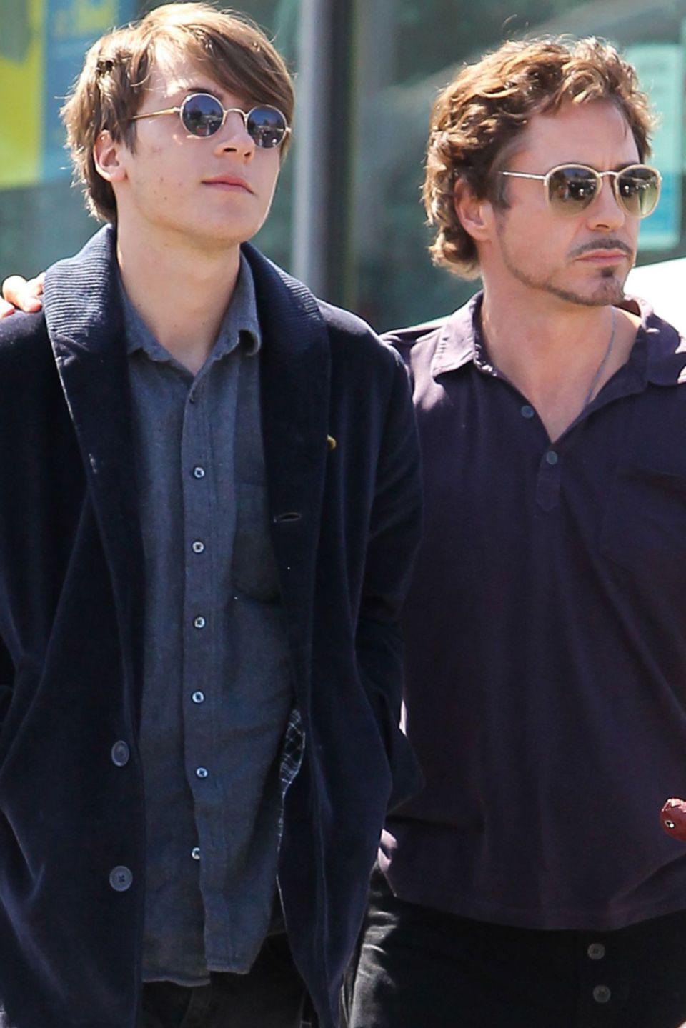Indio Downey + Robert Downey Jr