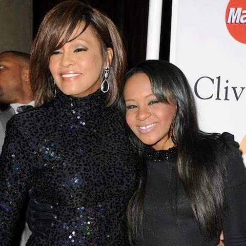 Whitney Houston + Bobbi Kristina Brown