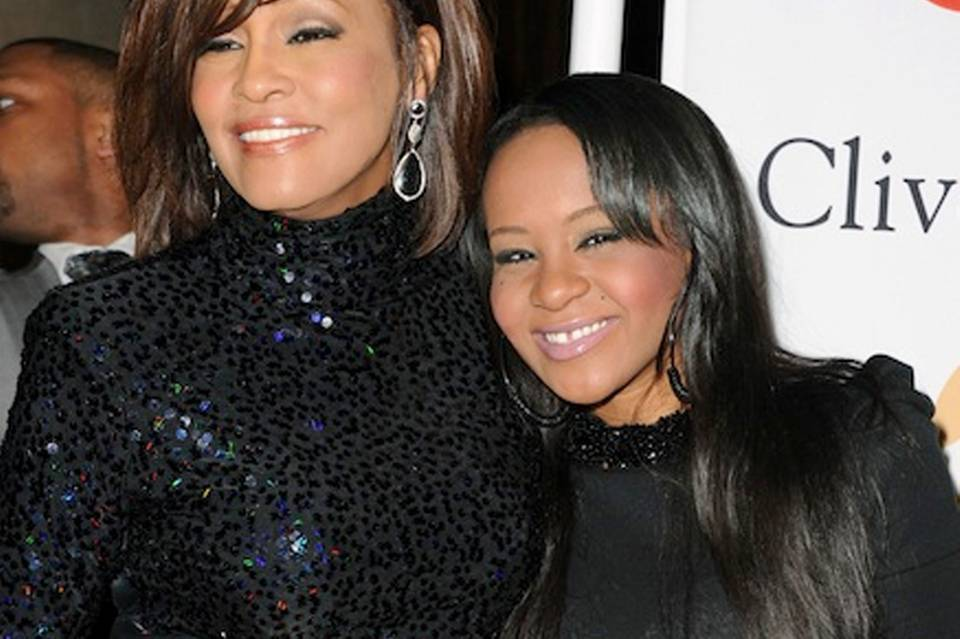 Whitney Houston + Bobbi Kristina Brown
