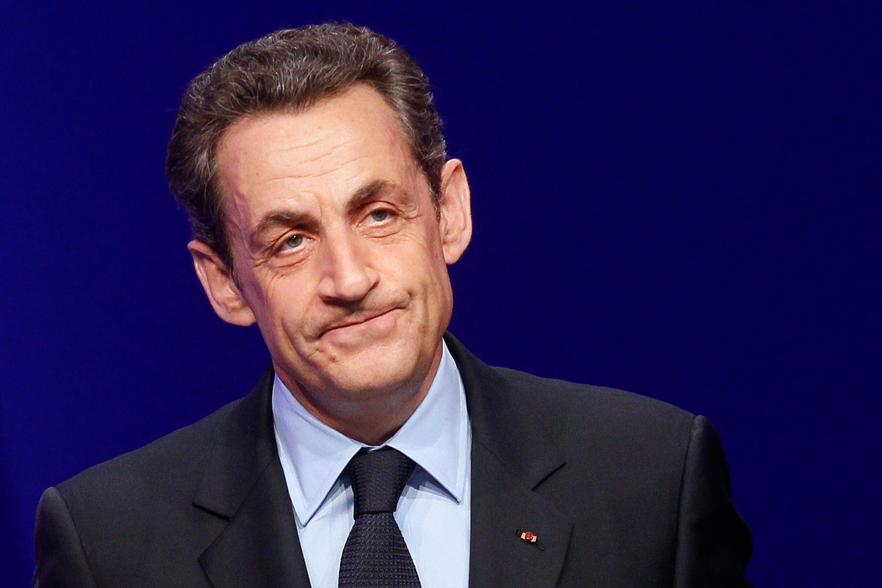 Französicher Ex-Präsidnet Nikolas Sarkozy in Polizeigewahrsam