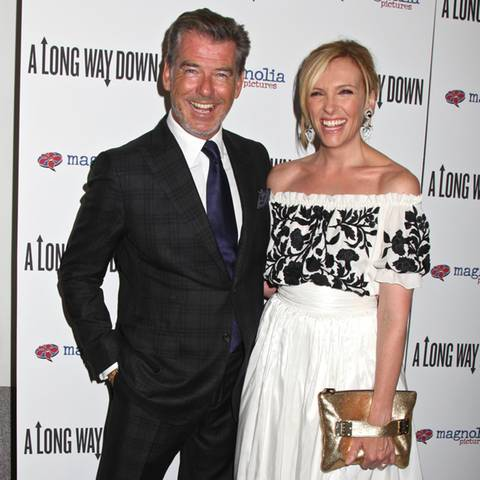 Pierce Brosnan + Toni Collette