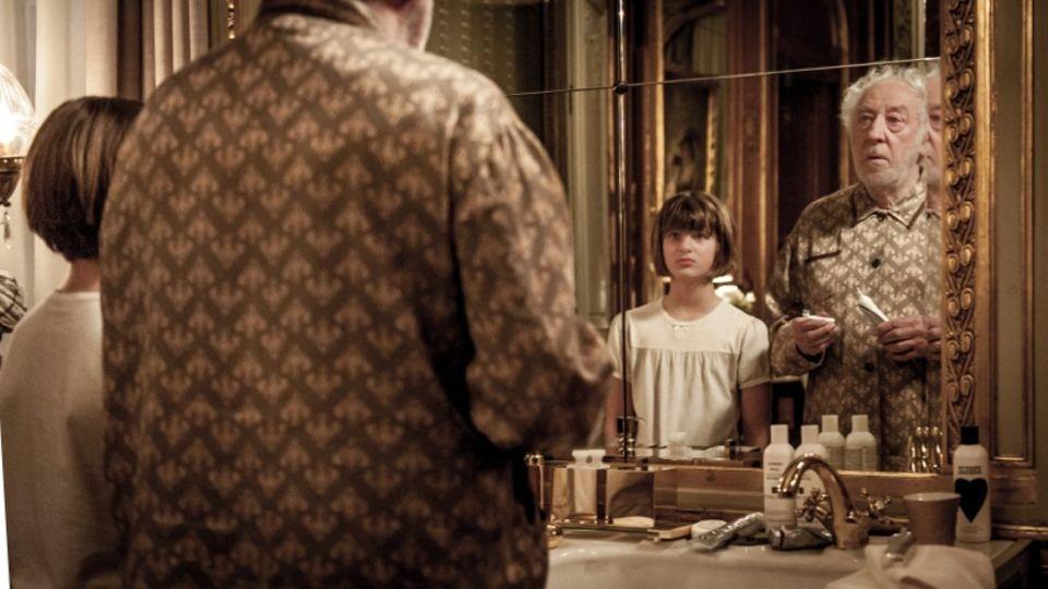 Didi Hallervorden spielt den an Alzheimer erkrankten Großvater von Film-Enkeltochter Emma Schweiger