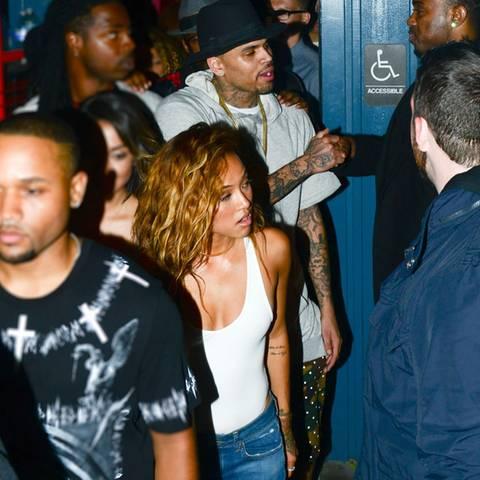 Chris Brown + Karrueche Tran