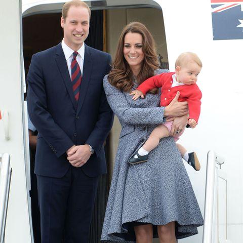 Prinz William, Herzogin Catherine, Prinz George