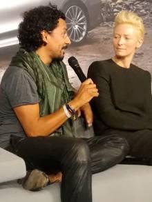 Haben dasselbe Verständnis von Stil, Mode und Luxus: Designer Haider Ackermann und Stil-Ikone Tilda Swinton.