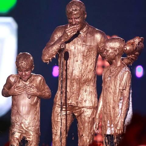 David Beckham und seine Söhne Romeo + Cruz
