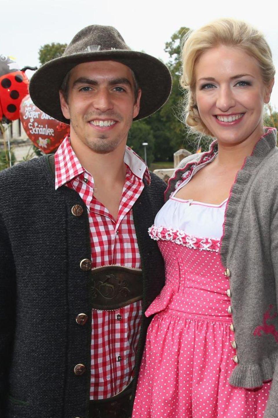 Philipp und seine Claudia: Sie heirateten im Jahr 2010.