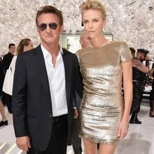 Sean Penn + Charlize Theron
