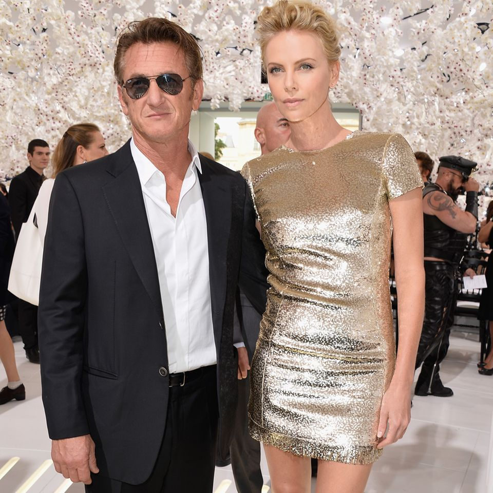 Sean Penn + Charlize Theron