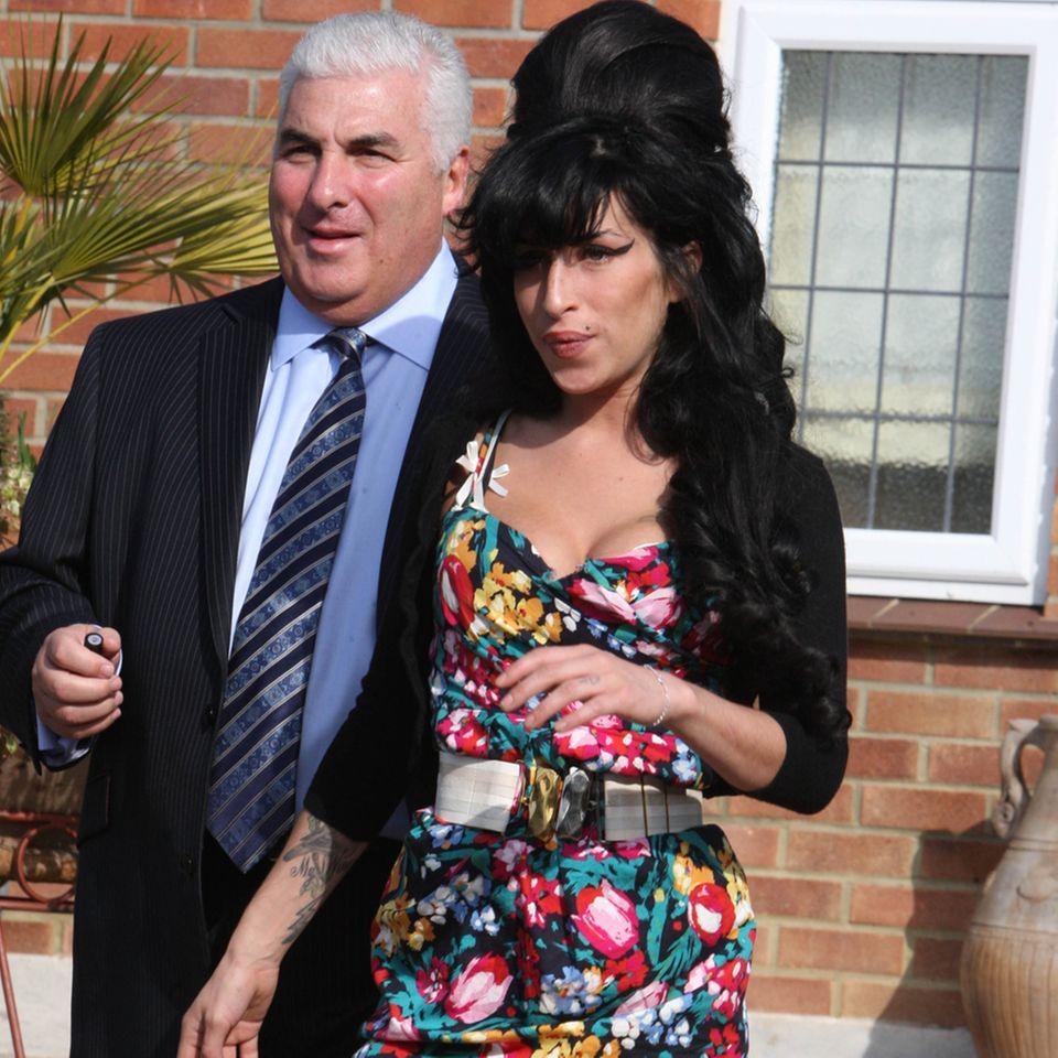 Mitch Winehouse + Amy Winehouse