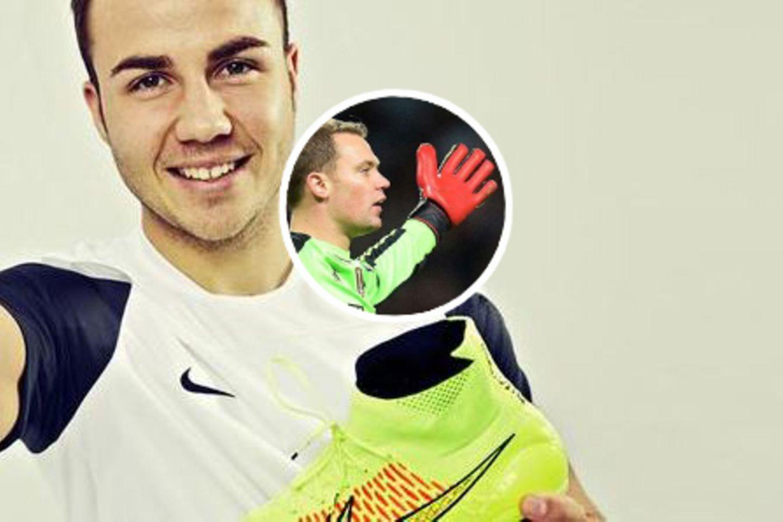 Mario Götze, Manuel Neuer