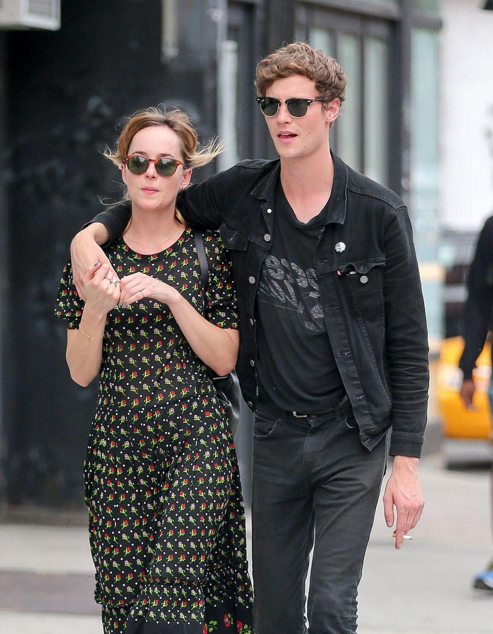 Dakota Johnson und Matthew Hitt: Wenn das nicht nach Beziehung aussieht ...