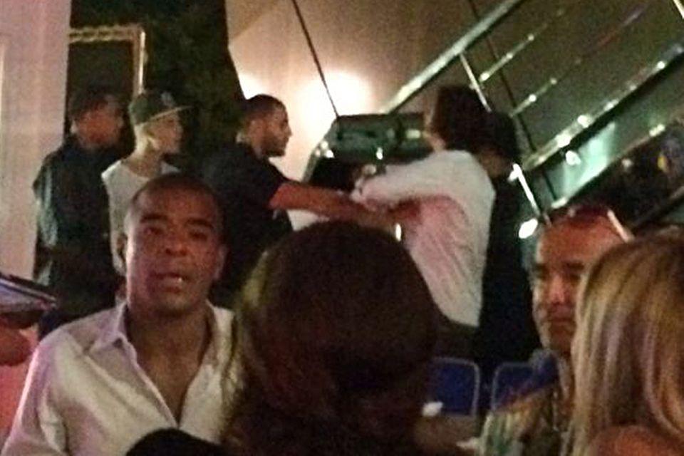 Auf Ibiza kam es zwischen Justin Bieber (links) und Orlando Bloom (rechts) zum Eklat.