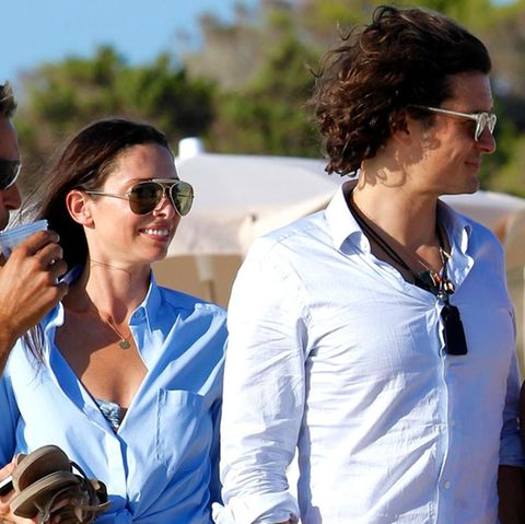 Orlando Bloom macht mit seiner neuen Liebe Erica Packer Urlaub