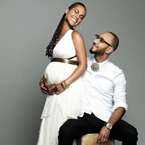 Alicia Keys + Swizz Beatz