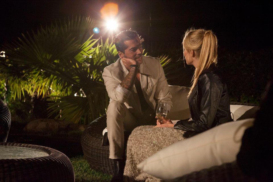 """In der dritten """"Bachelorette""""-Folge hat Anna dem selbstbewussten Italiener einen Dämpfer verpasst."""