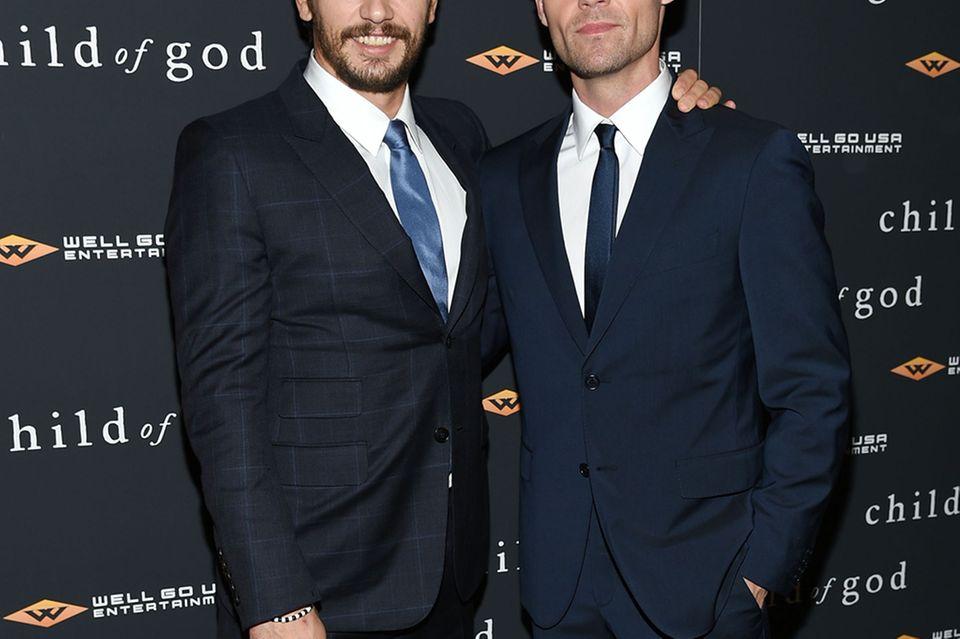 James Franco + Scott Haze
