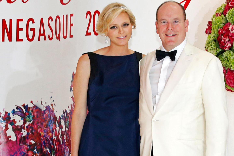 Charlène und Albert von Monaco