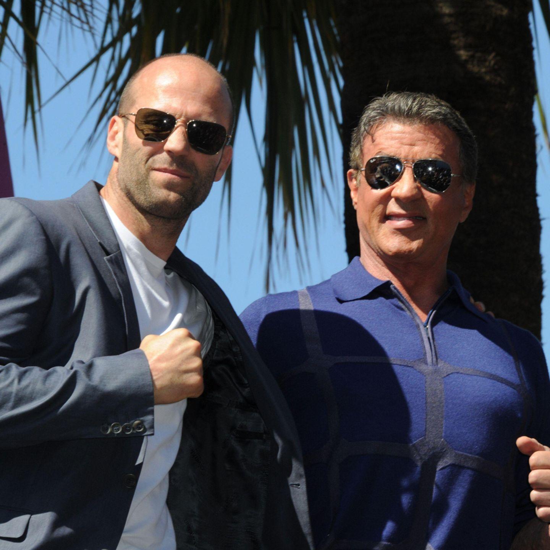 Jason Statham + Sylvester Stallone