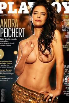"""Sandra Speichert auf dem aktuellen """"Playboy""""-Cover"""