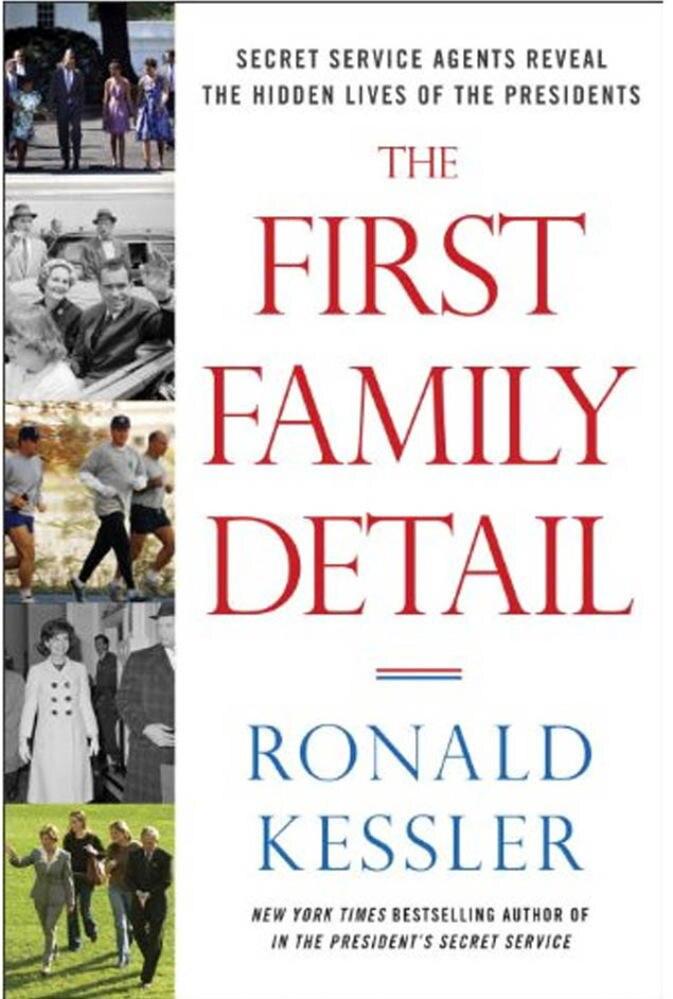 """The First Family Detail"" gibt pikante Details über Bill Clintons Liebesleben preis (Crown Forum Verlag, 272 S., 18,90 Euro)."