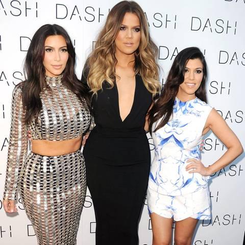 Kim, Khloé + Kourtney Kardashian
