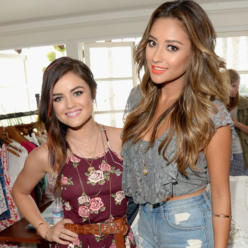 Lucy Hale + Shay Mitchell