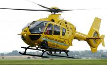 "In so einem Hubschrauber der ""East Anglian Air Ambulance"" wird Prinz William ab September sein Training beginnen."