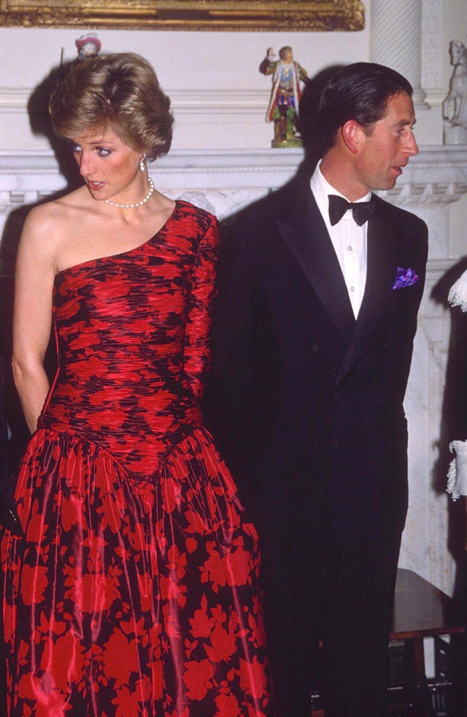 Krisenjahre: Die folgenreiche Ehekrise von Diana und Charles Anfang der Neunzigerjahre bekam Dickie Arbiter hautnah mit. Mit Prinz Charles verband ihn sogar eine Freundschaft.