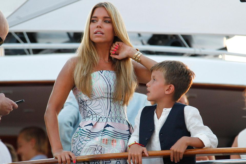 Sylvie Meis und Sohn Damian