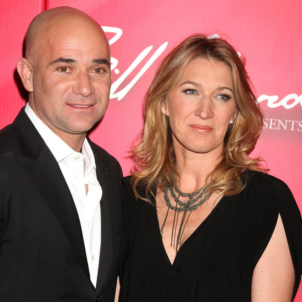 Andre Agassi + Steffi Graf
