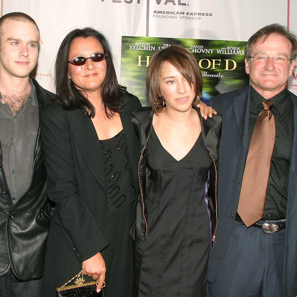 Robin Williams + Familie