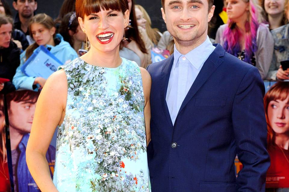 Daniel Radcliffe + Jemima Rooper