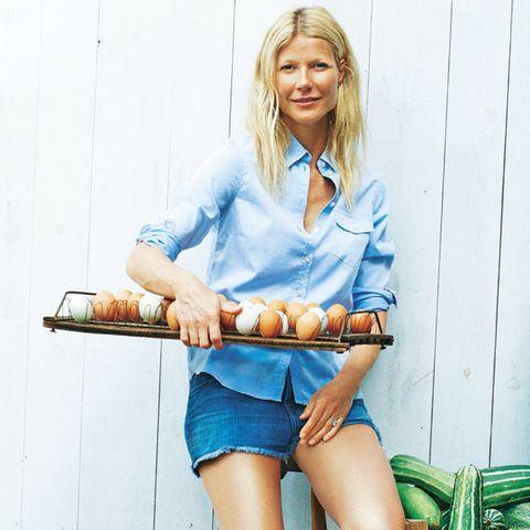 Countrygirl: Sooft sie kann, kauft Gwyneth Paltrow frische Eier direkt beim Farmer