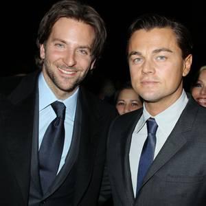 Bradley Cooper + Leonardo DiCaprio