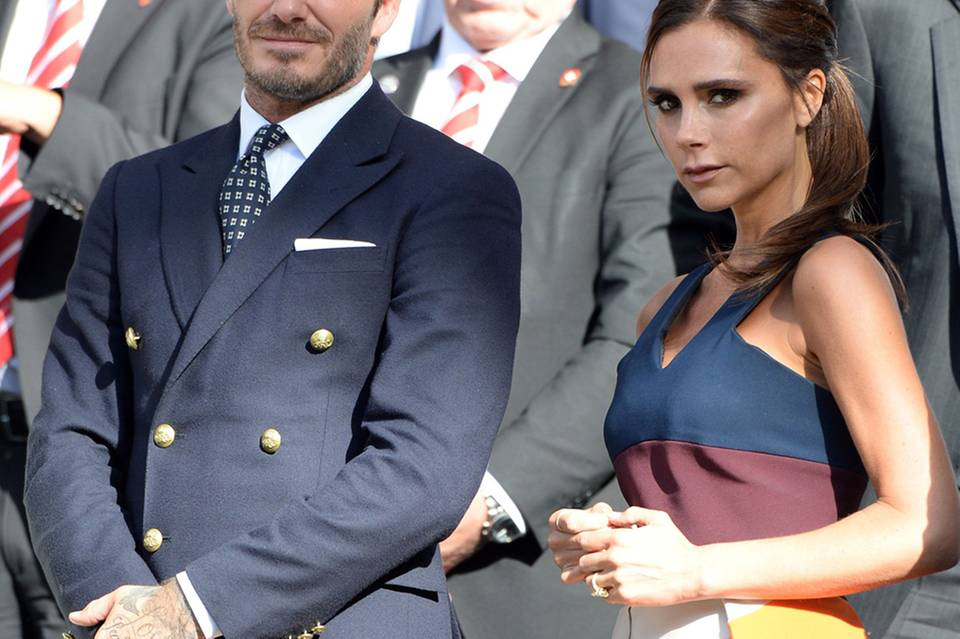 David Beckham + Victoria Beckham